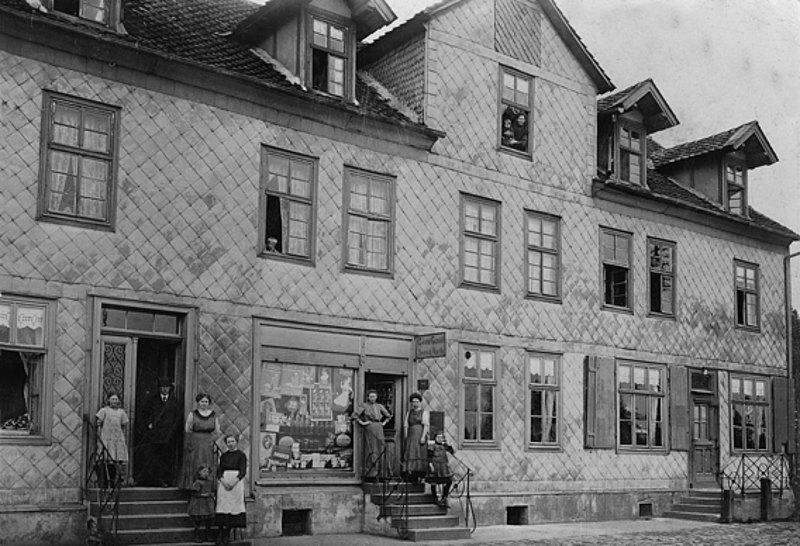 Erinnerungen im Netz: Das Fachwerkhaus an der Leipziger
