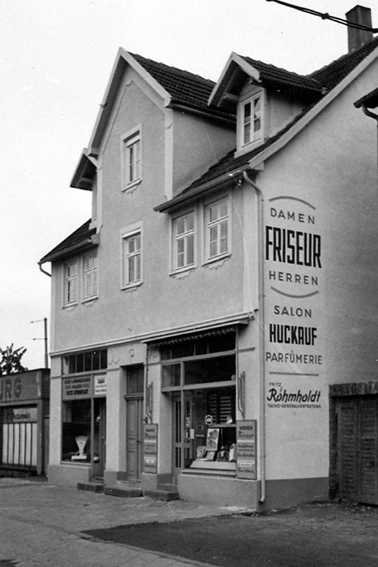 Salon Huckauf in 1965